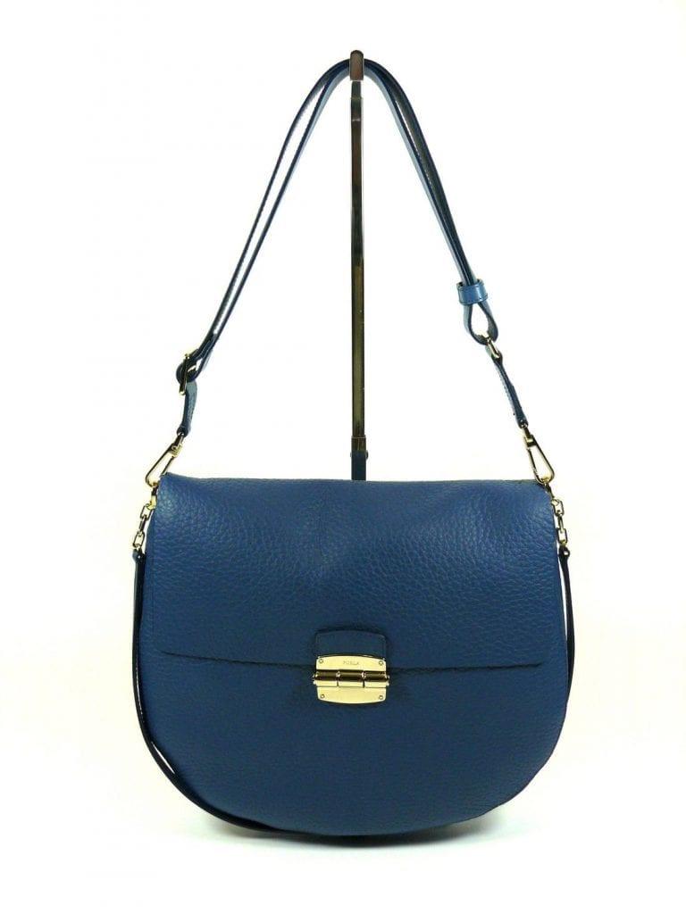 Borsa Furla Club Blu Cobalto A (834754) - Buroni Pelletterie 433a30ebe84e4