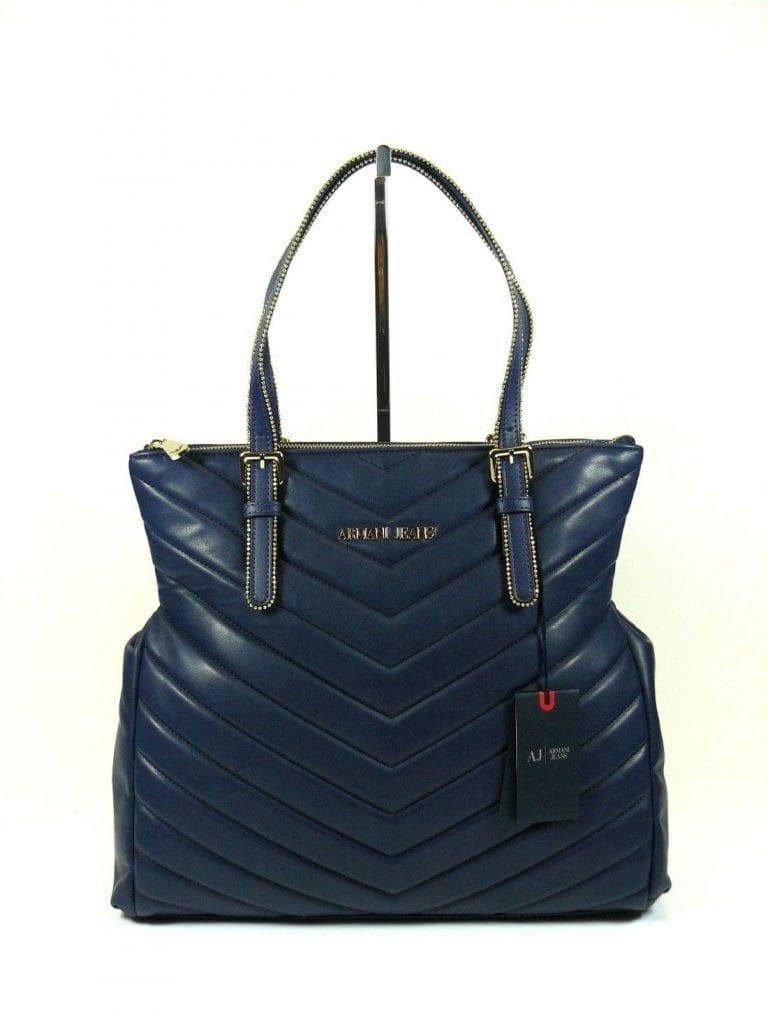 Shopping Armani Jeans blu petrolio - Buroni Pelletterie fb714e107f7a8
