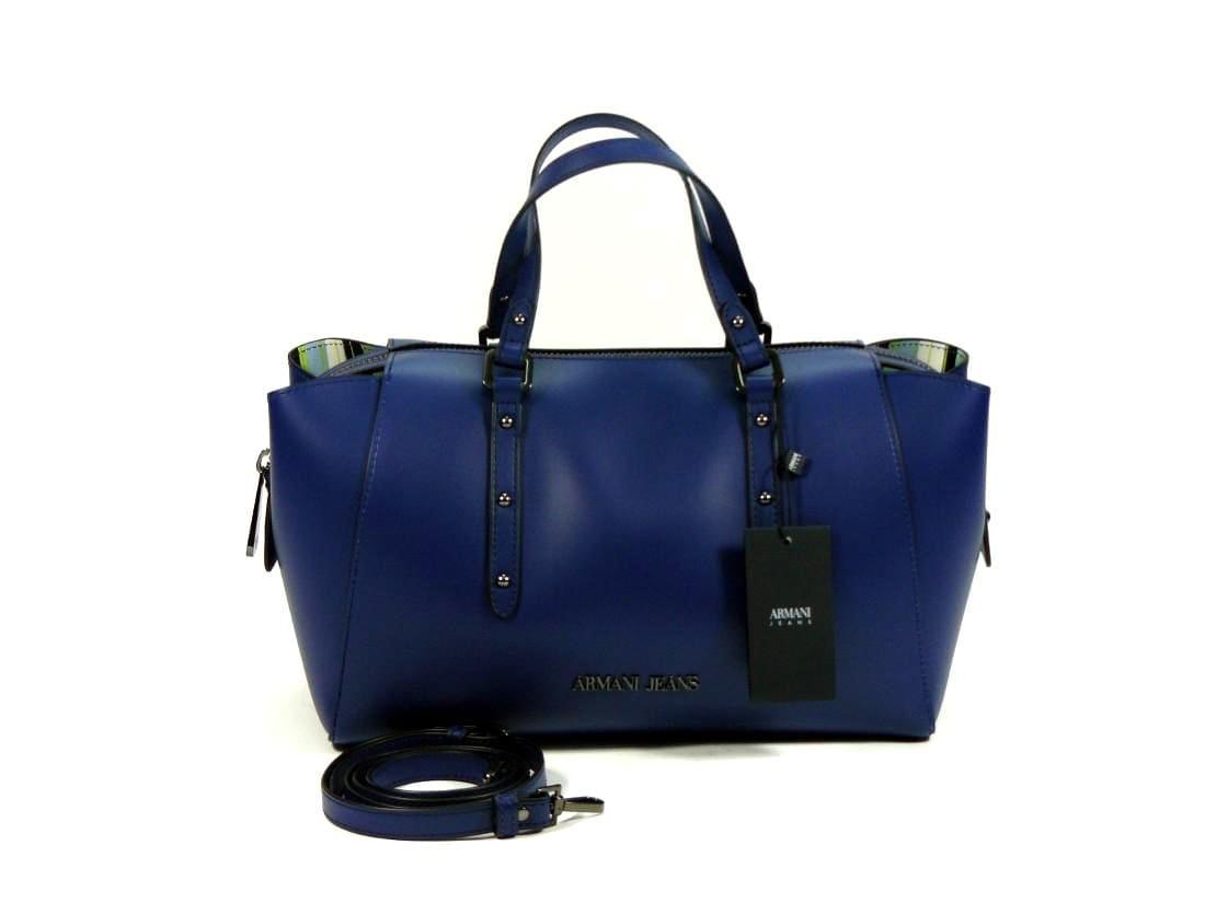 999c6f5615 ... Borsa donna, Shopping/Borsa Bauletto Armani Jeans Ocean Blu. In  offerta! ; 