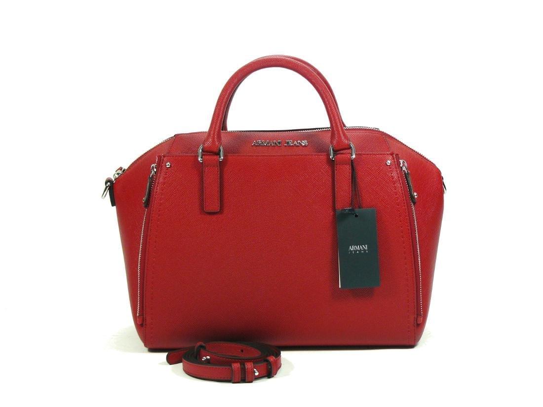 8fd85648f80 Bauletto Armani Jeans Persian Red - Buroni Pelletterie