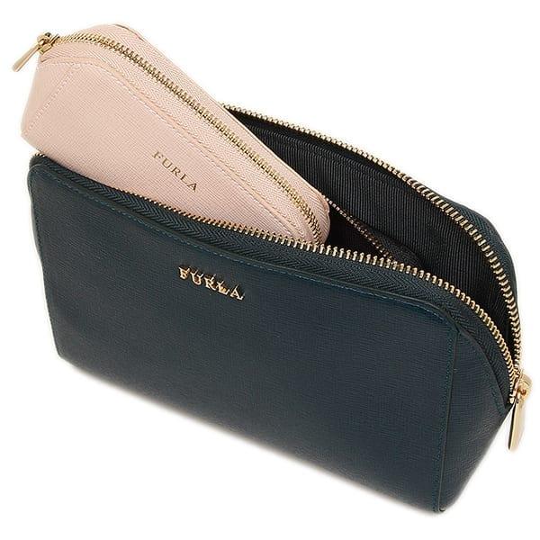 cheap prices 100% genuine shoes for cheap Tris di pochette Furla Electra Petrolio (830217)