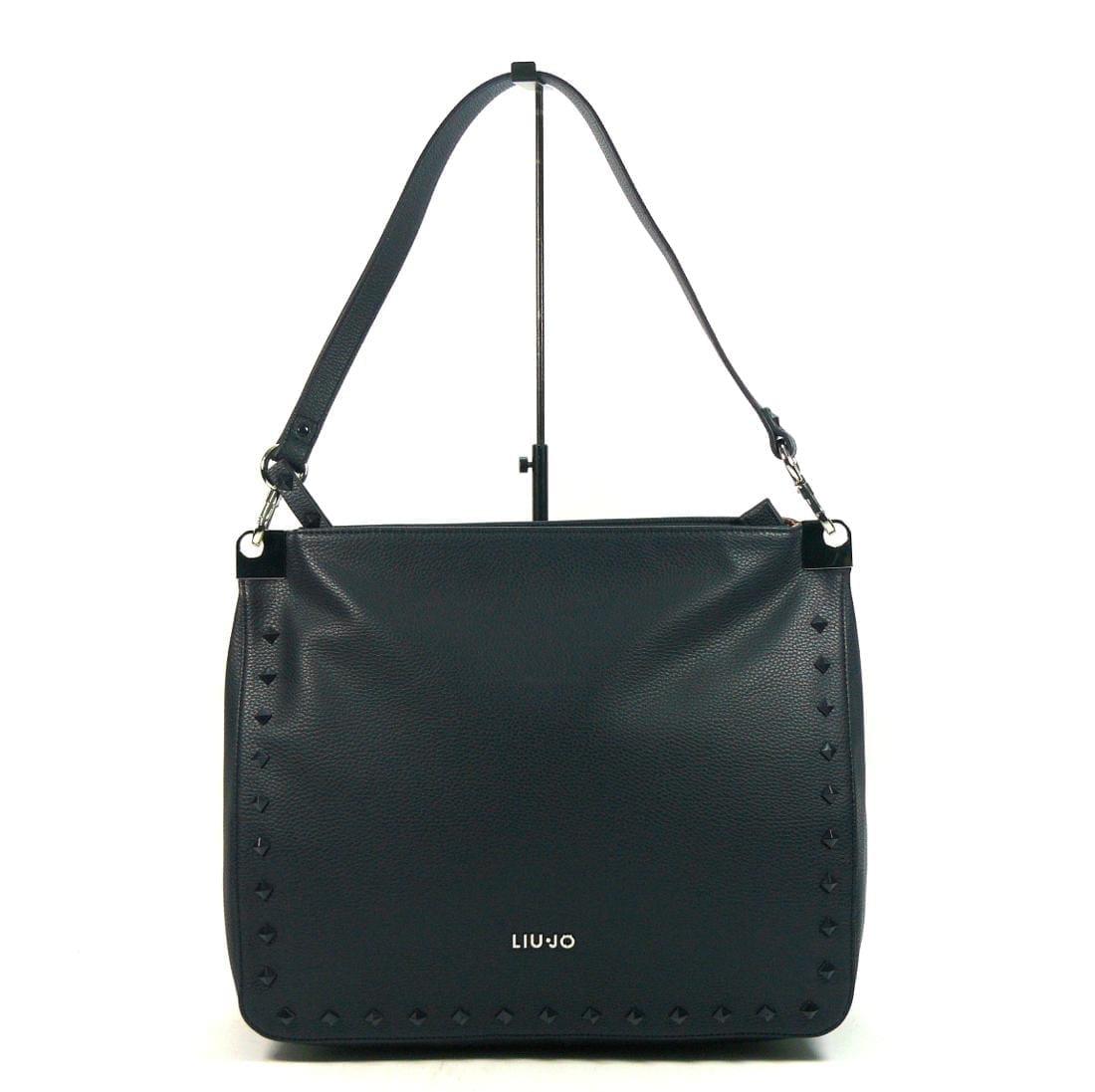 Shopping Liu-Jo Ninfea M Black   Stone - Buroni Pelletterie aea8bb1c5dd