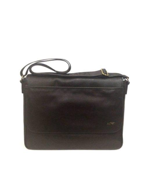 Messenger Armani Jeans Marrone - Buroni Pelletterie 7b9c9d67a2800