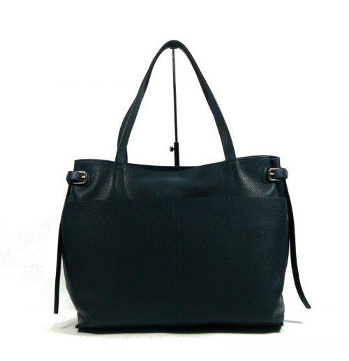 Shopping in pelle Gianni Chiarini Blu