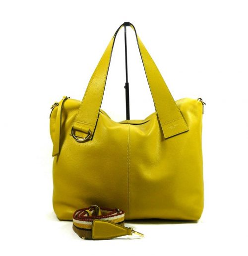 Shopper Gianni Chiarini Giorgia Custard