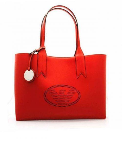Shopping Emporio Armani Red-Denim
