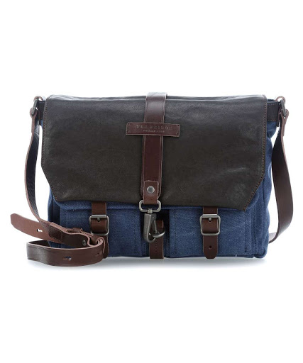 Messenger The Bridge Canvas - pelle blu