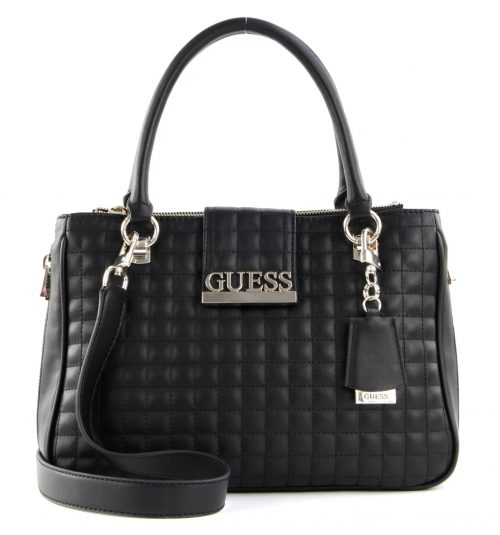Borsa a mano Guess Matrix Nero