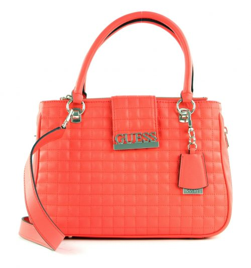 Borsa a mano Guess Matrix Red