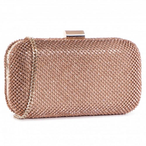 Clutch Liu-Jo Con Strass Light Gold