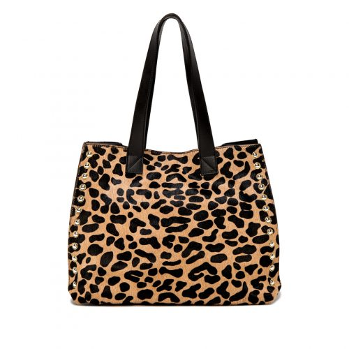 SHOPPING GIANNI CHIARINI DOROTEA LARGE ANIMALIER