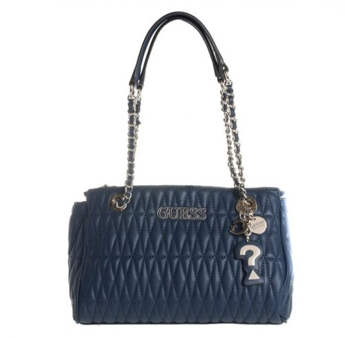 Borsa a spalla Guess Brinkley Blue