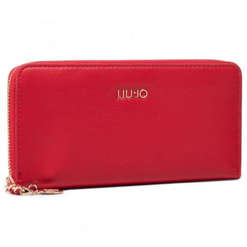 Portafoglio Liu-Jo Zip Around True Red