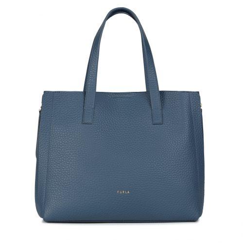 Shopping Furla Grase Blu Denim L