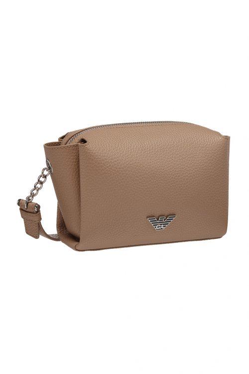 Mini case bag a tracolla con placchetta aquila