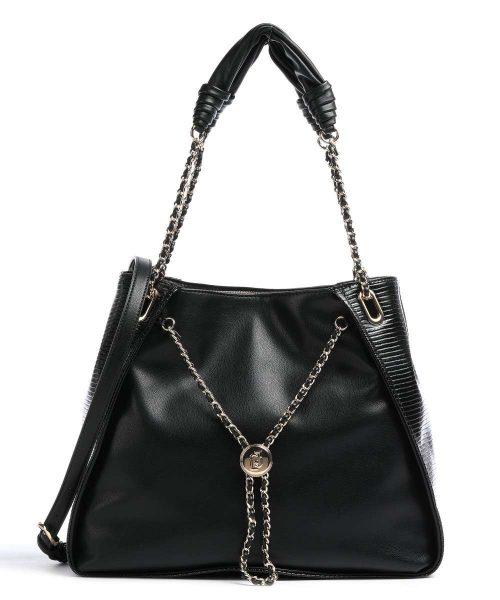 Shopping LIu-Jo Nera con catena gioiello