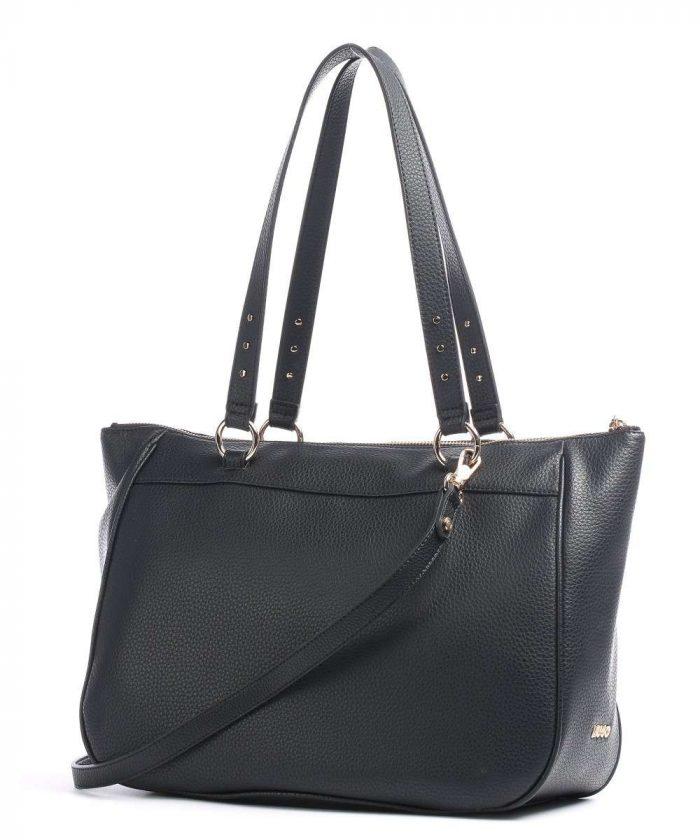 Borsa shopping Liu-Jo Nera con borchie