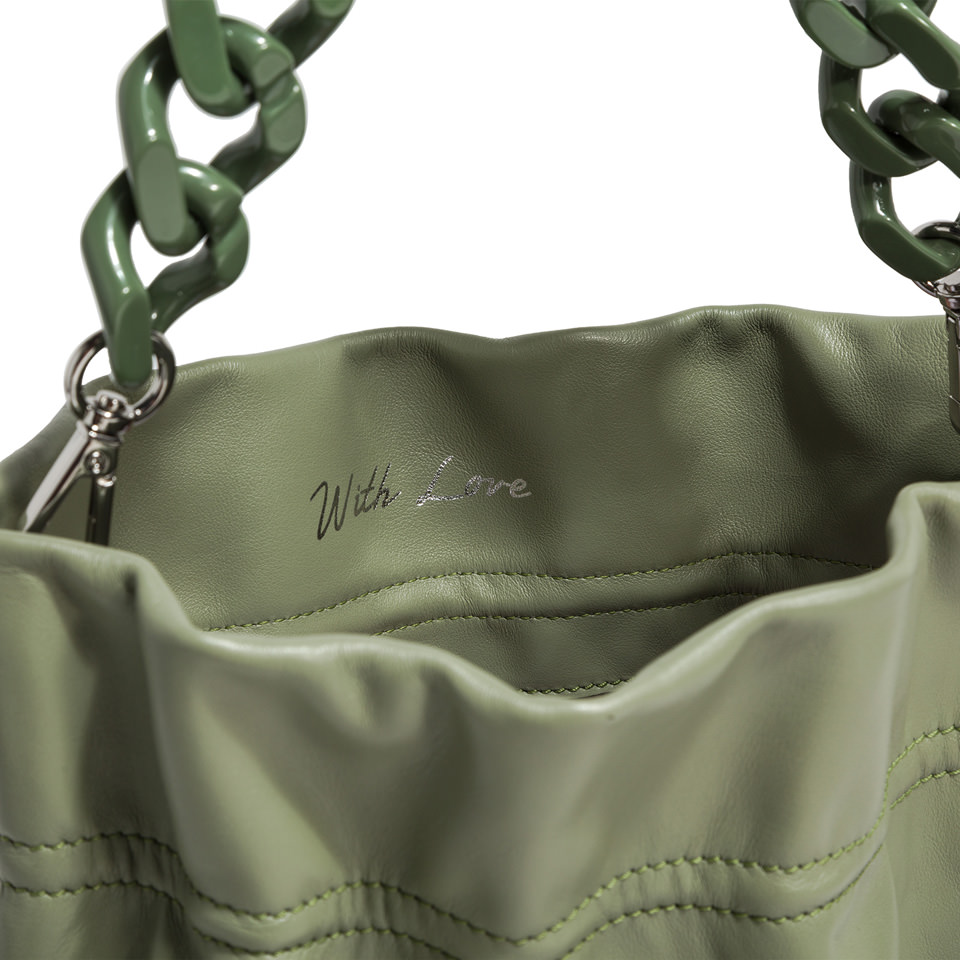 Borsa a spalla Gianni Chiarini Memory Matcha Green