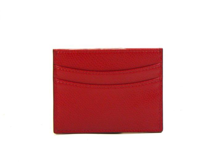 Porta Carte di credito Emporio Armani Ruby Red