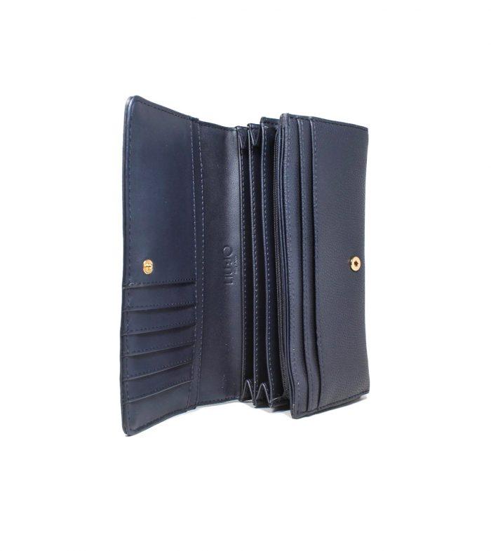 Portafoglio Bi-Fold Liu-Jo Blu Midnight