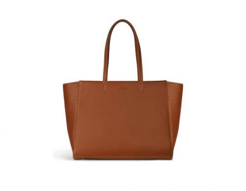 Shopping Furla Regina Cognac h L