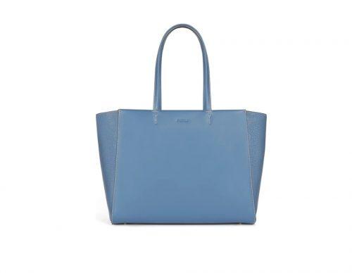 Shopping Furla Regina Blu Denim L