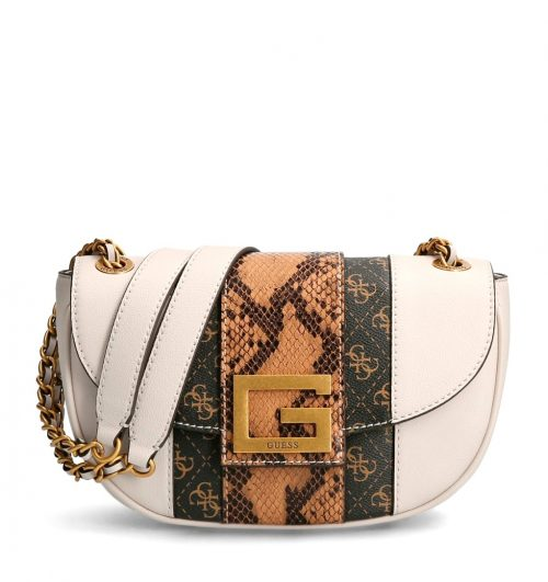 Tracollina Guess Bling Stampa Pitone